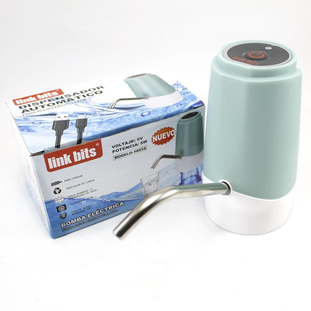Dispensador Automático Recargable para Garrafón Verde Aqua FA014
