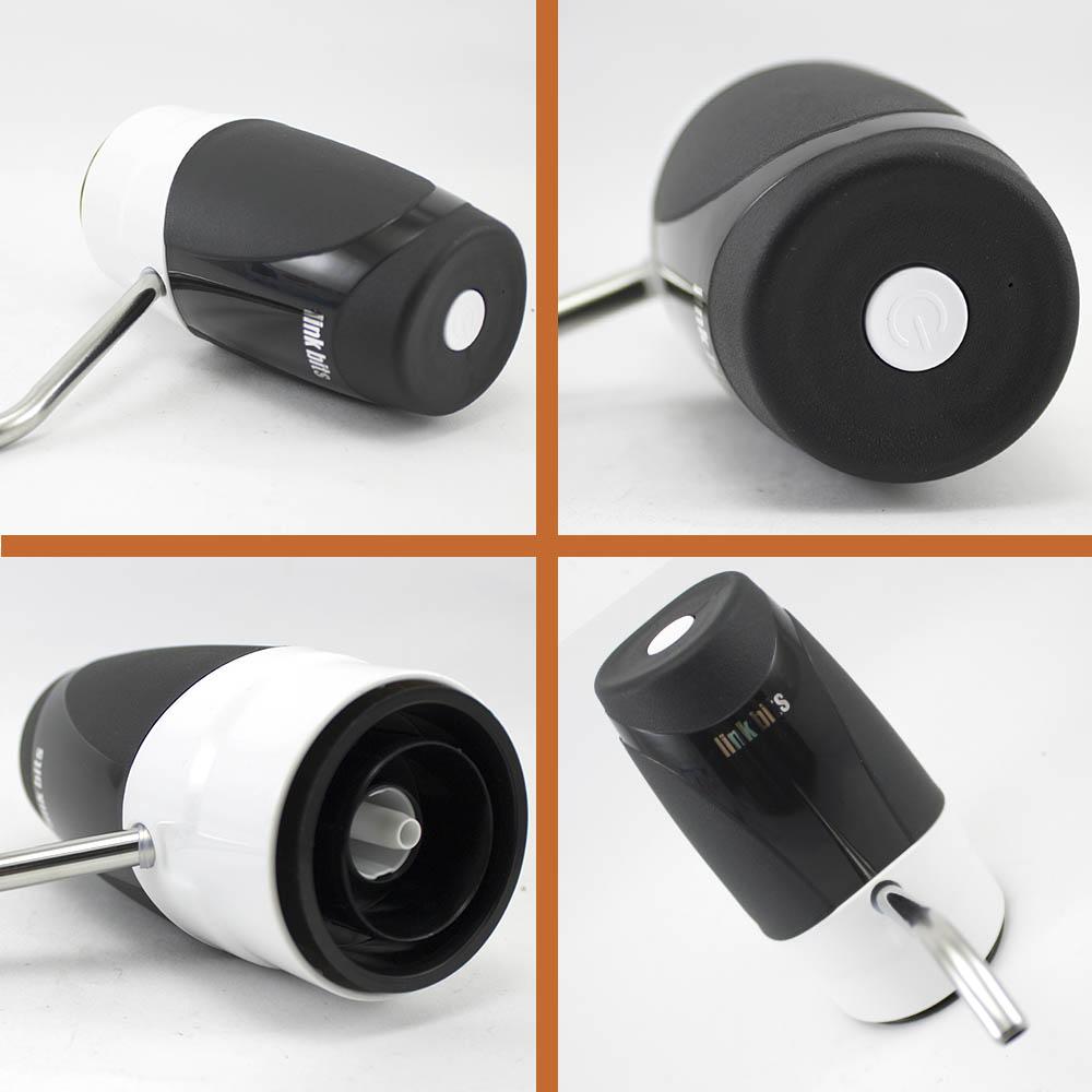 Dispensador Automático Recargable para Garrafón Negro-Blanco FA015