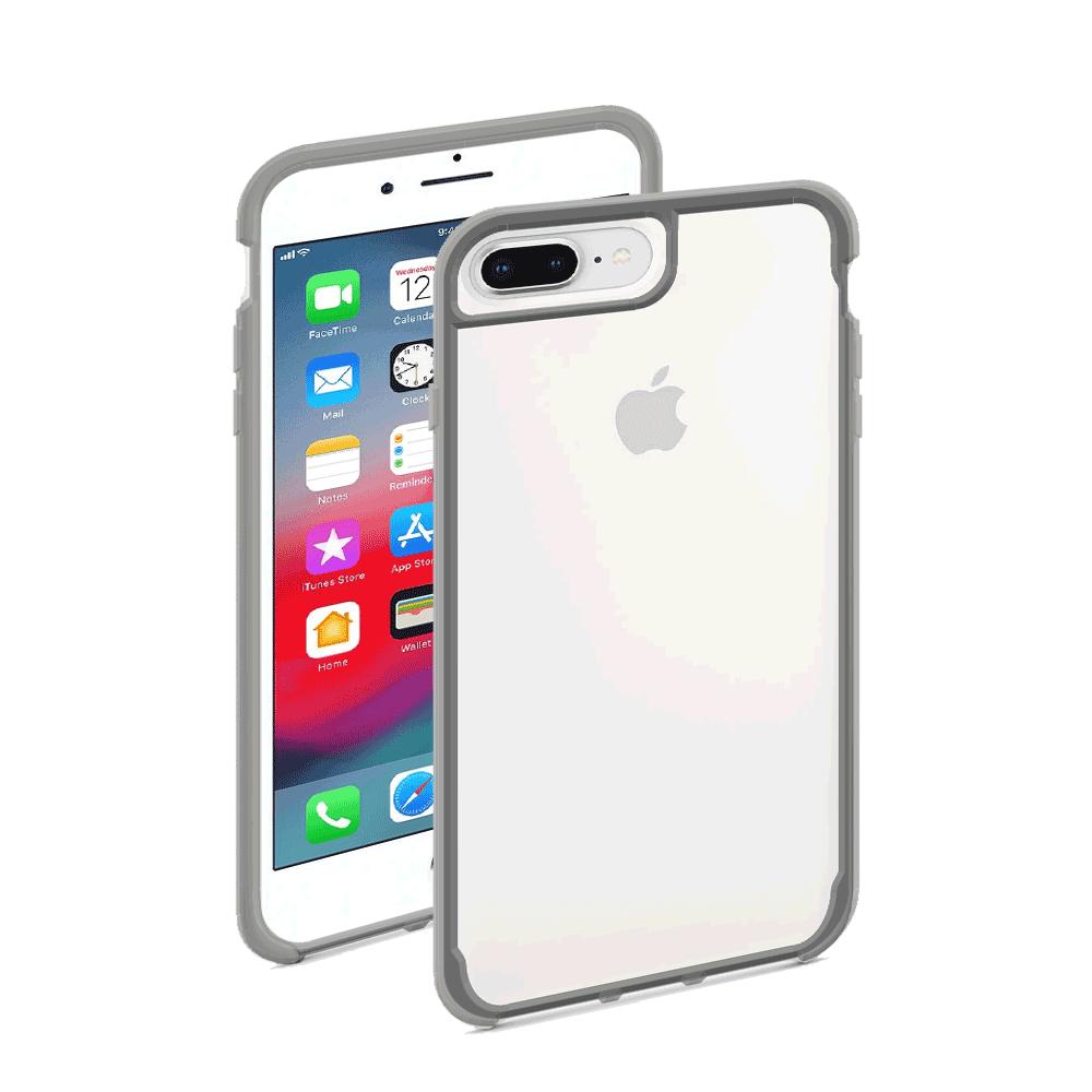 Protector Griffin Survivor Clear Funda Transparente Uso Rudo iPhone 7 Plus / 8 Plus / 6S Plus / 6 Plus Gris