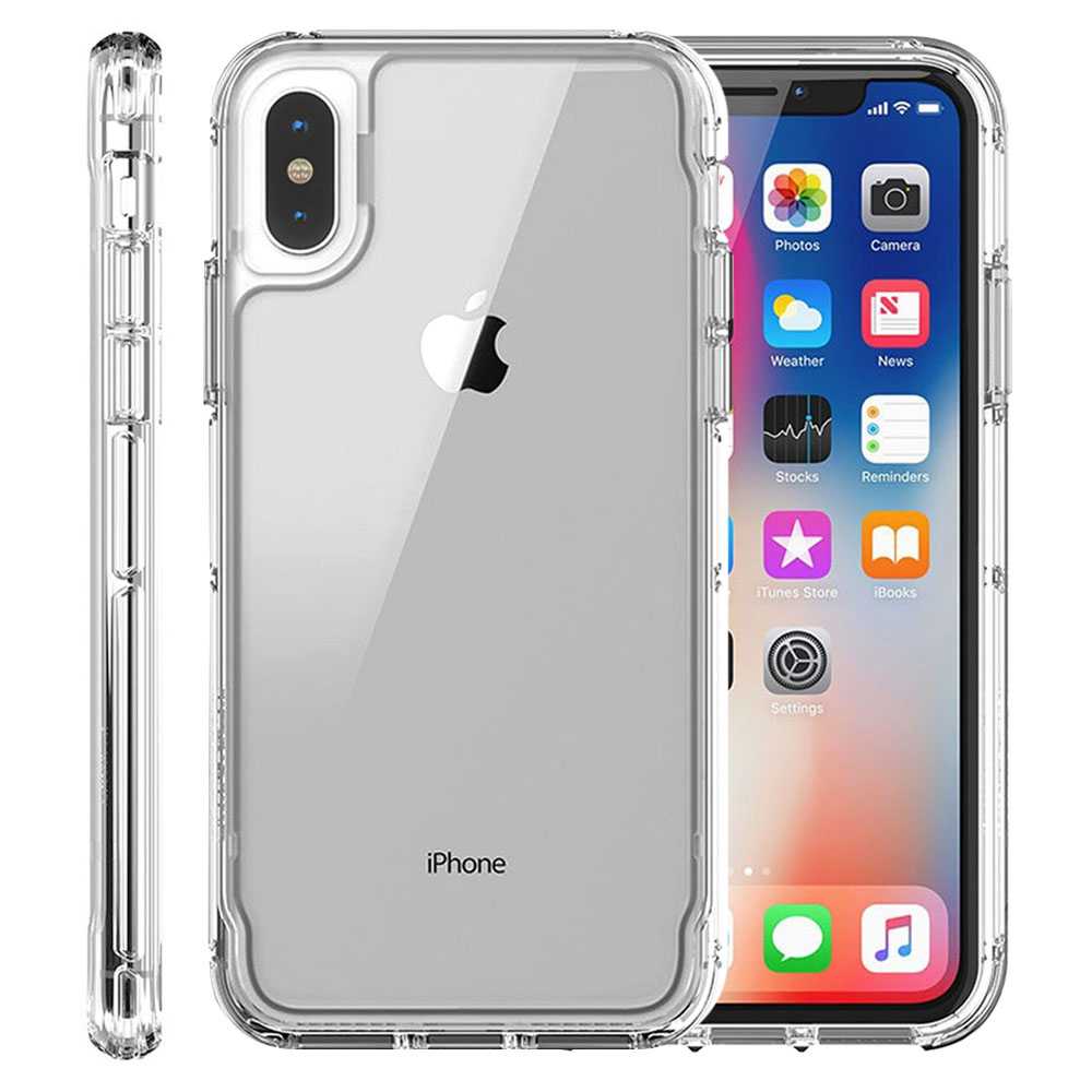 Protector Griffin Survivor Clear Funda Transparente Uso Rudo iPhone X / XS Transparente