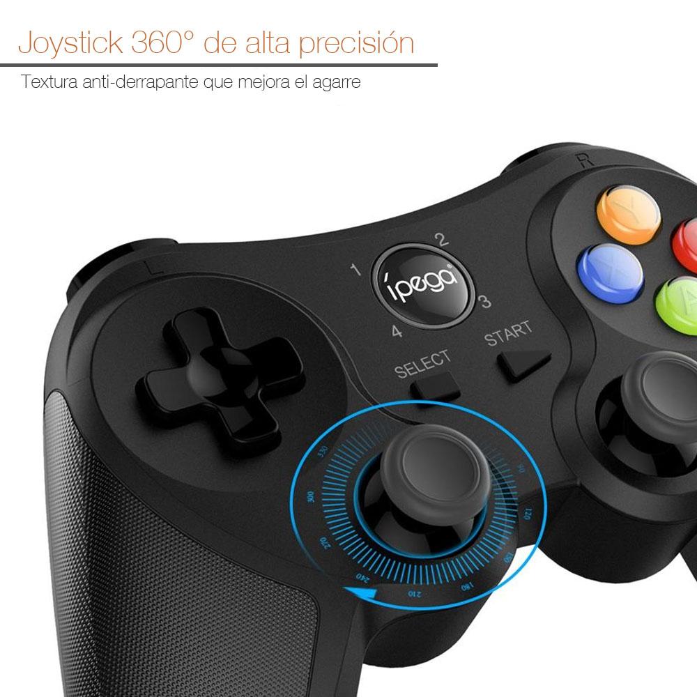 GamePad Control Universal para Celular / Tablet / PC / Smart TV / TV Box / PS3 Inalámbrico Bluetooth y USB ípega PG-9078