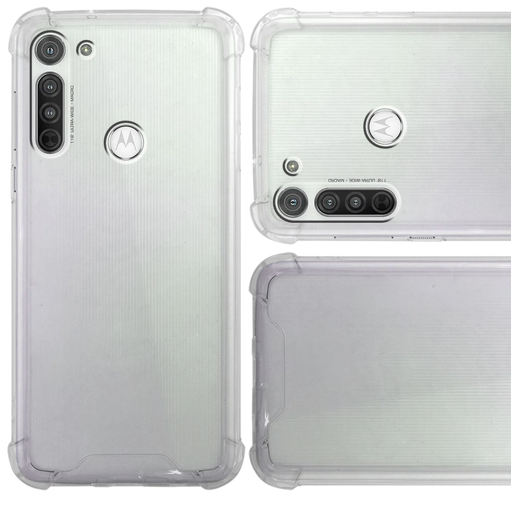 Funda Acrigel TPU Uso Rudo Motorola Moto G8 Power
