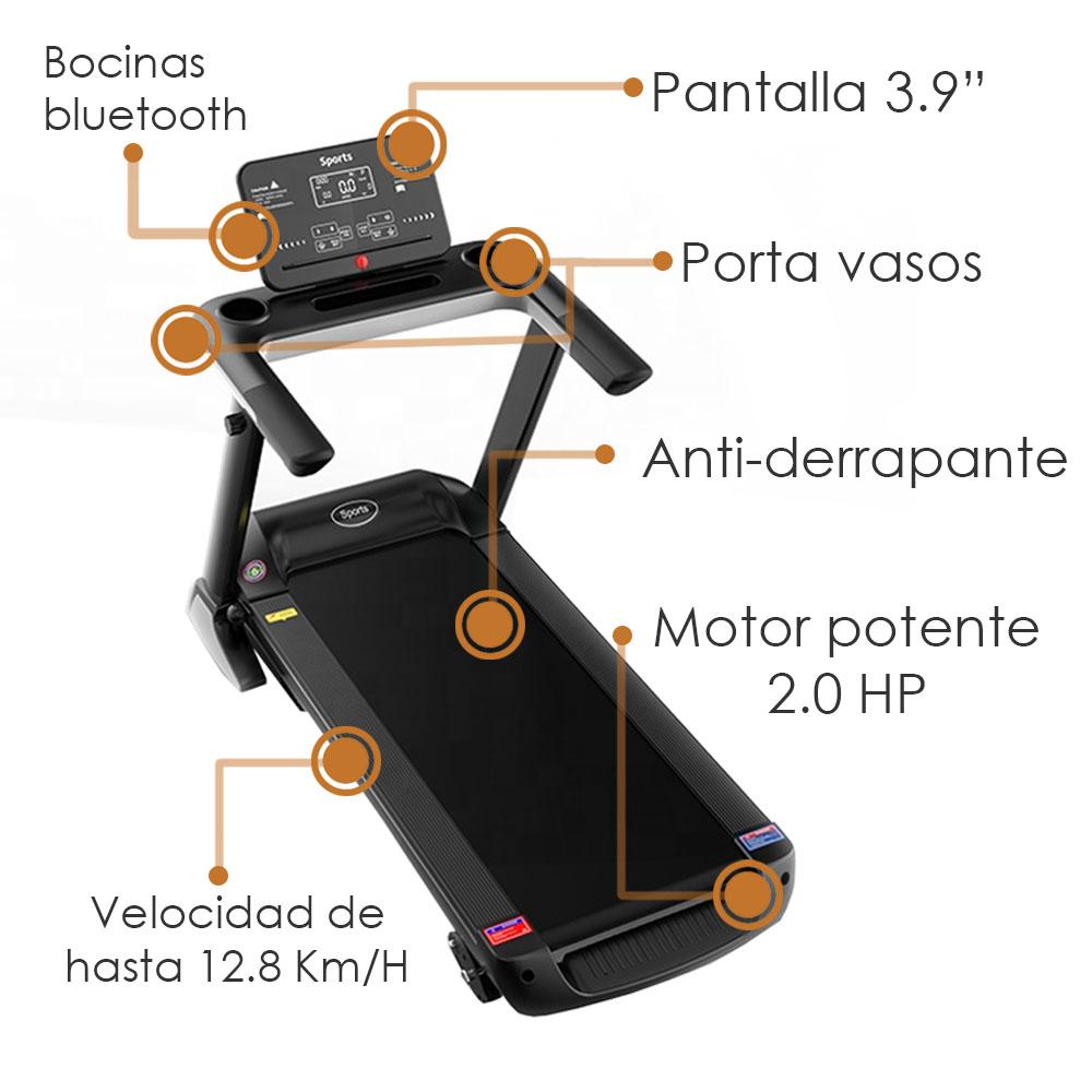 Caminadora A9PLUS Electrica Cinta Correr Fitness Desde Casa