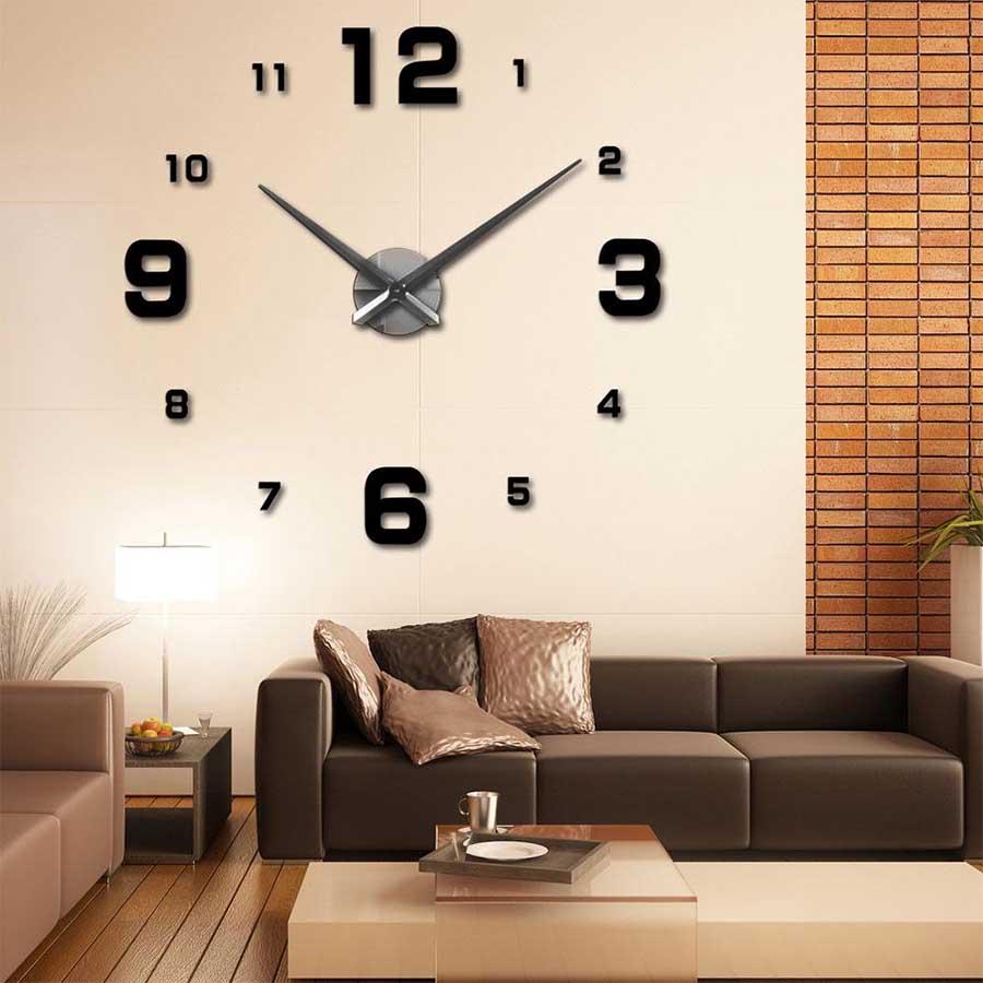 Reloj de Pared Moderno Gigante Hágalo Usted Mismo
