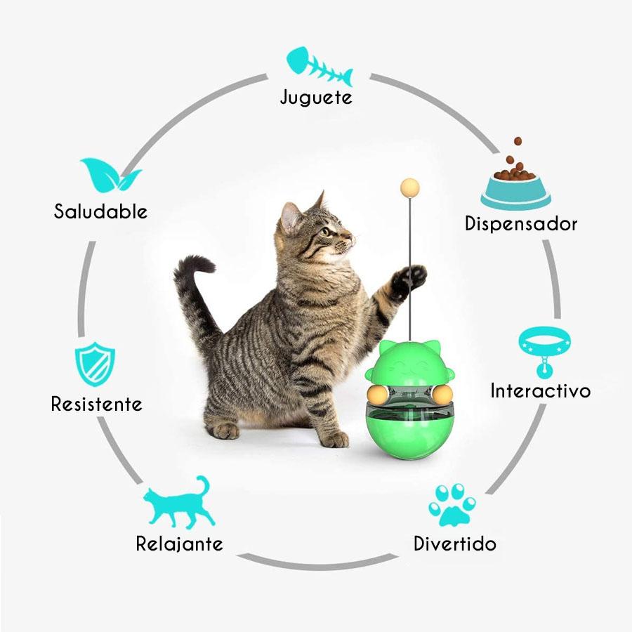 Bola De Dispensación De Alimentos Para Gatos, Vaso De Juguete