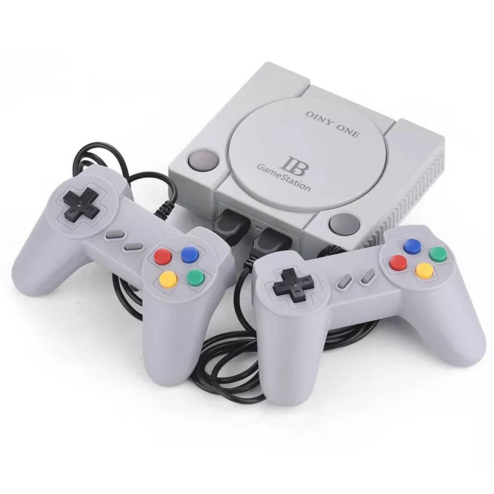 Consola de Juegos Retro con 2 Controles GameStation con 648 VideoJuegos 8 Bits / 16 Bits