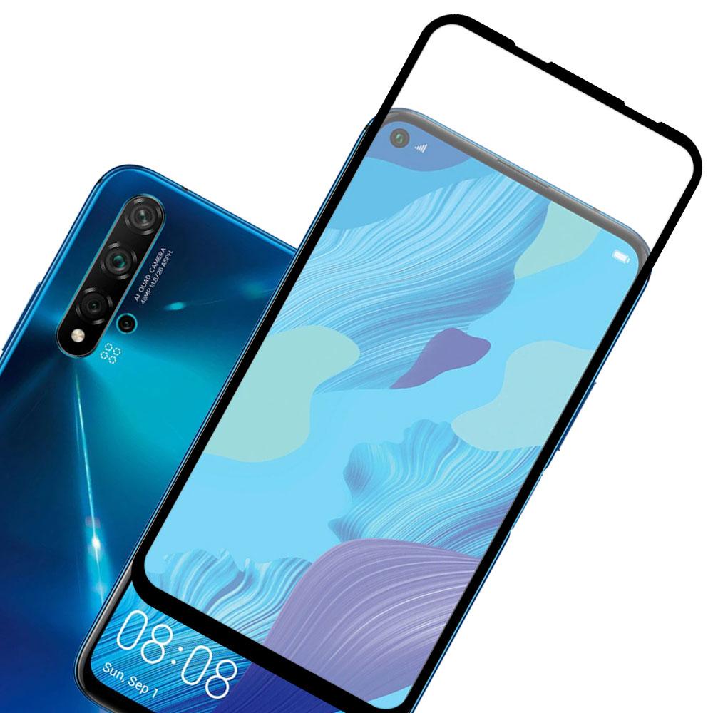 Mica Cristal Templado Curva 5D Huawei Nova 5T / Honor 20