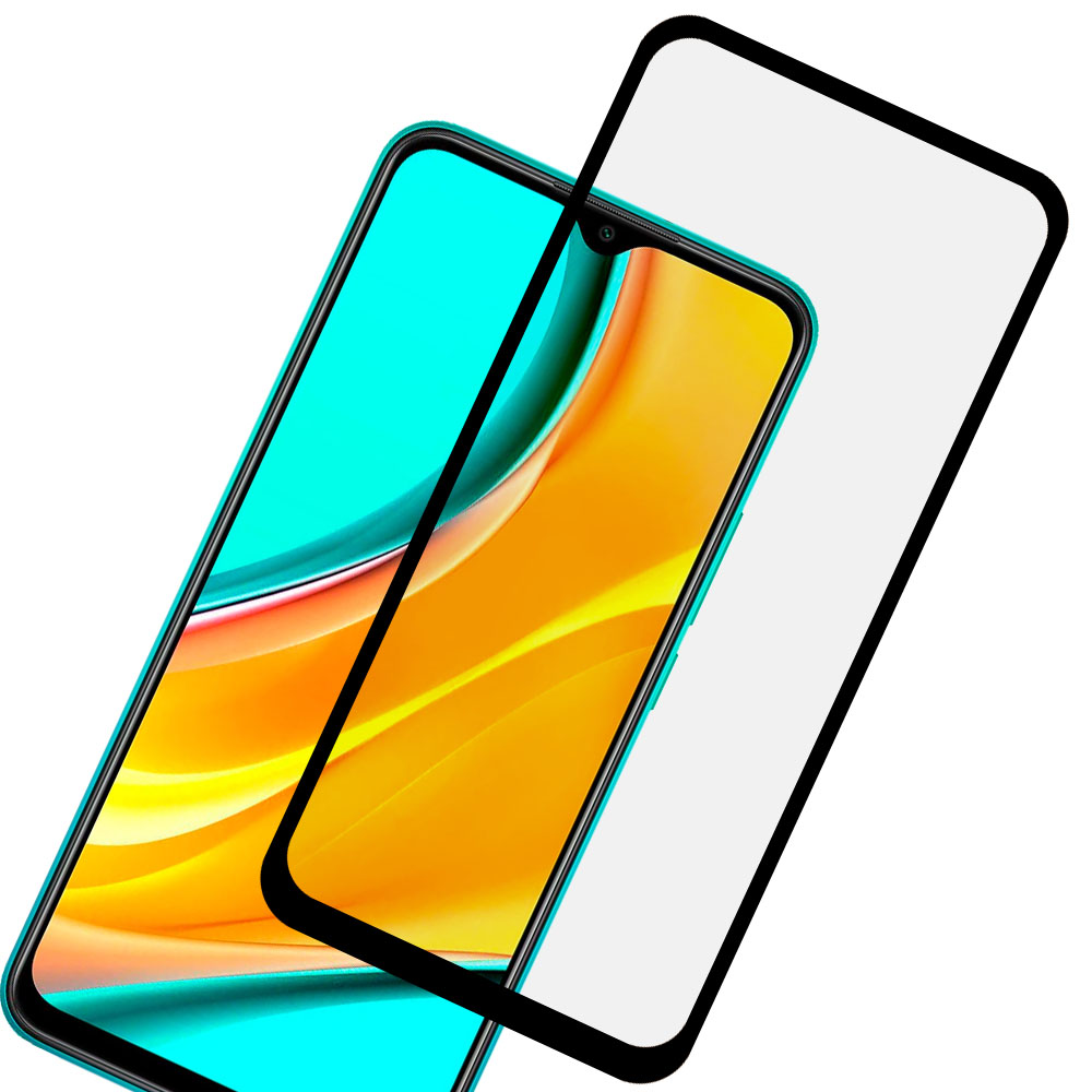 Mica Cristal Templado Curva 5D Xiaomi Redmi 9 / Redmi 9A