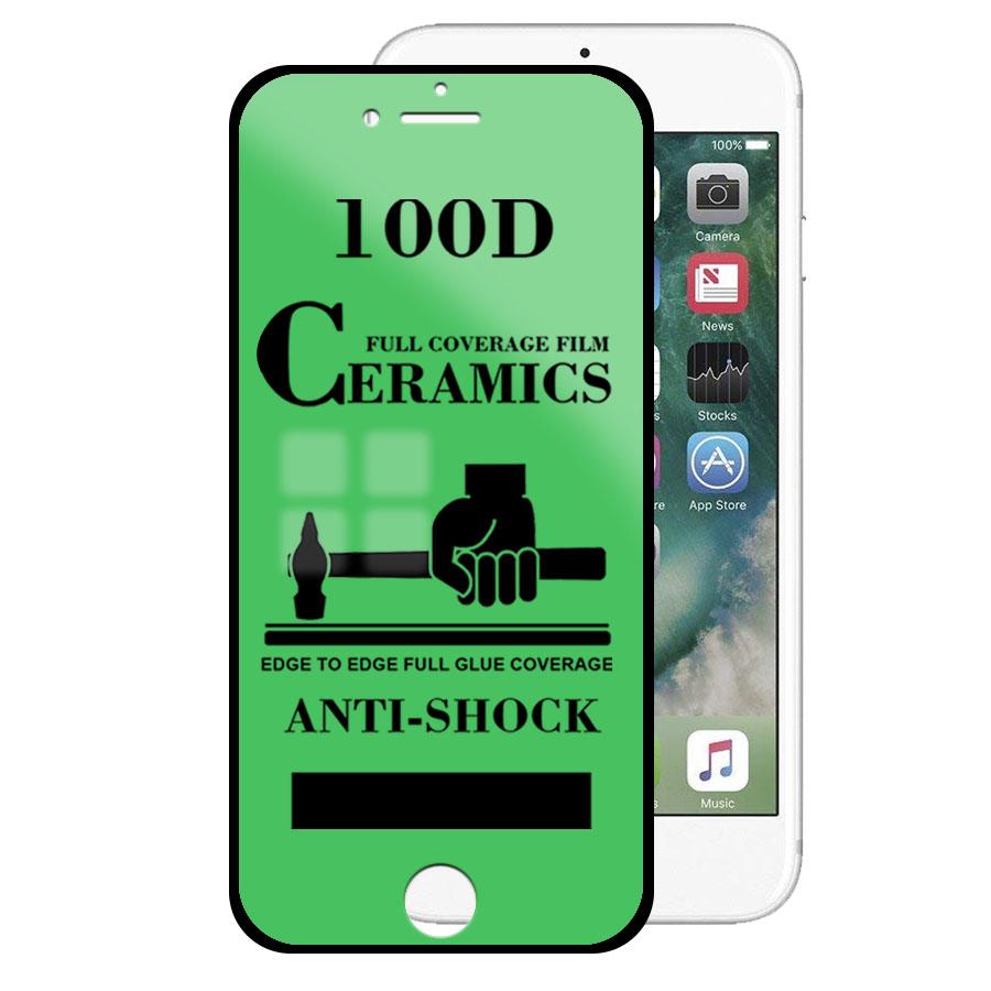 Mica Cerámica Protector de Pantalla Full Cover AntiShock Apple iPhone 7 / iPhone 8 / iPhone SE 2020