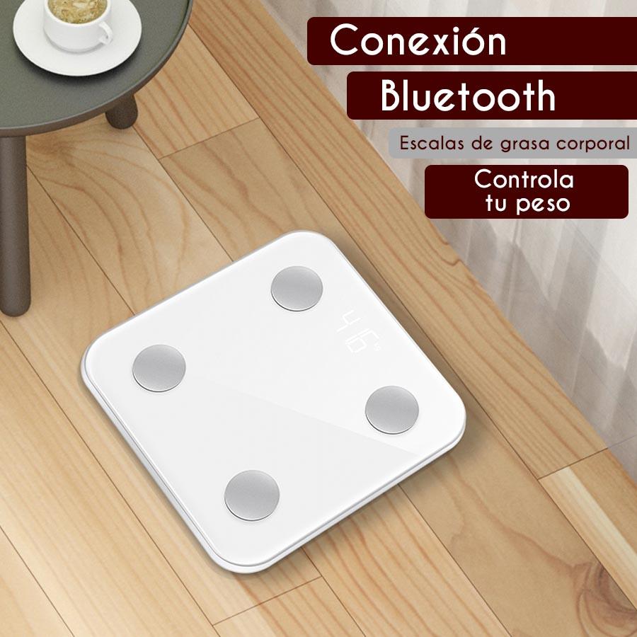 Bascula Digital Bluetooth Smart Scale 3-180 kg
