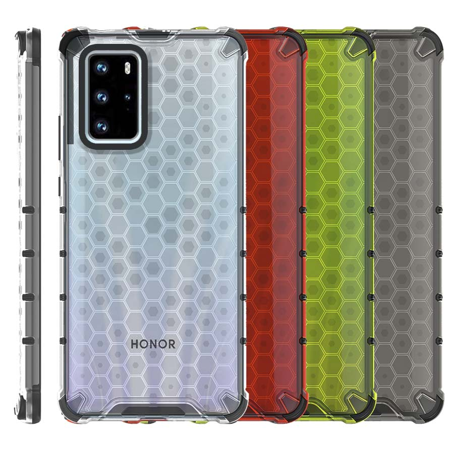 Funda Honey Transparente Uso Rudo Honor 30s