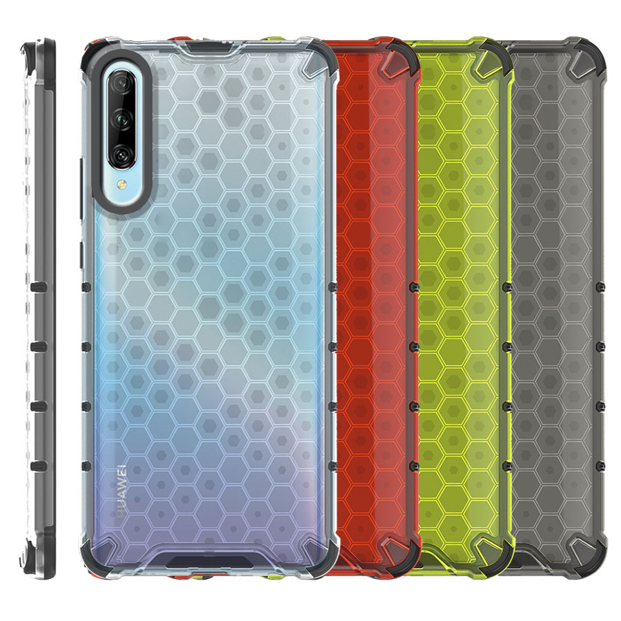 Funda Honey Transparente Uso Rudo Huawei Y9S / Honor 9X Pro