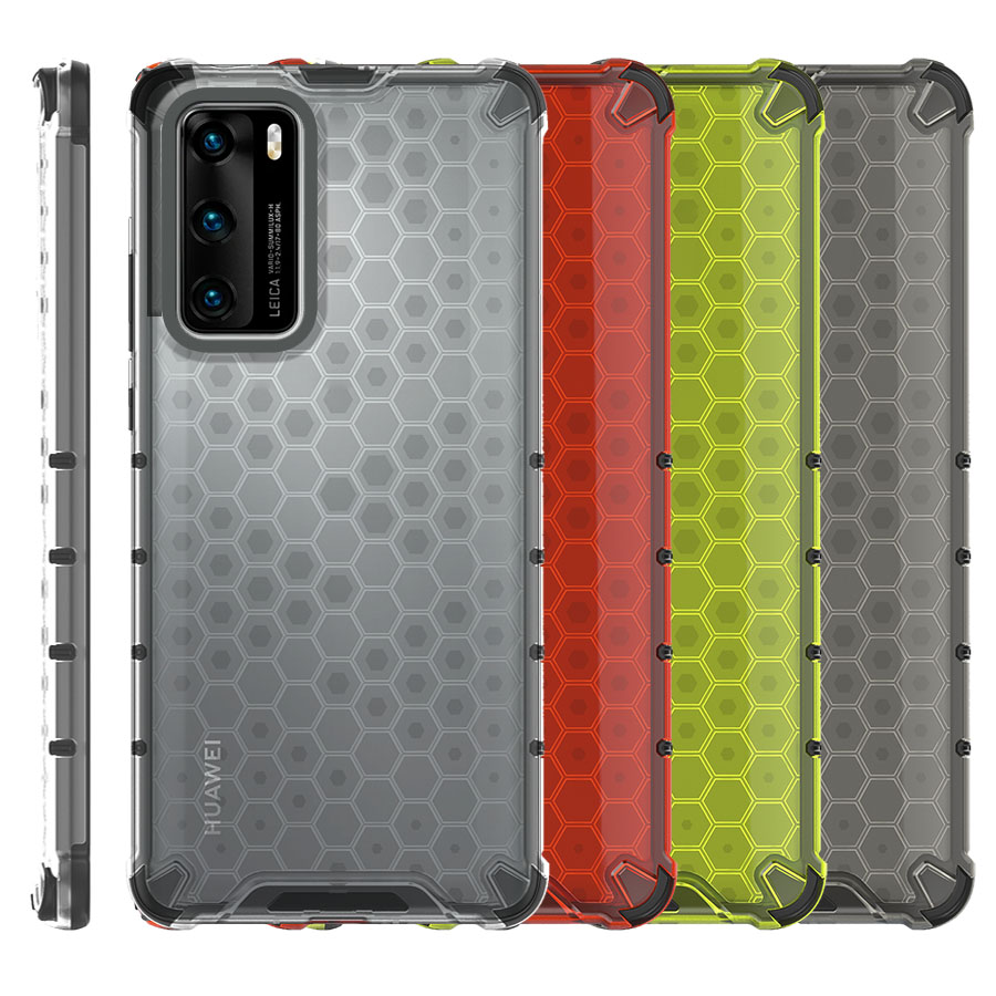 Funda Honey Transparente Uso Rudo Huawei P40