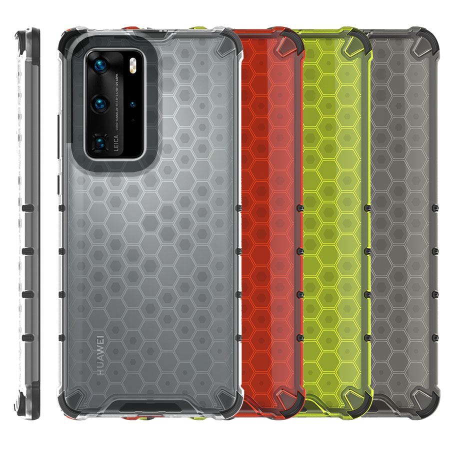 Funda Honey Transparente Uso Rudo Huawei P40 Pro