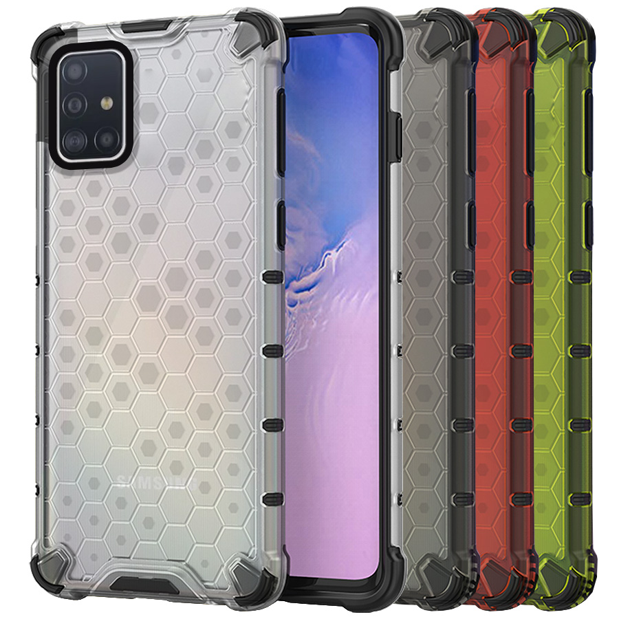 Funda Honey Transparente Uso Rudo Samsung Galaxy A51