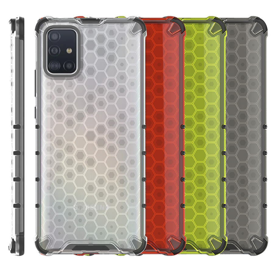 Funda Honey Transparente Uso Rudo Samsung Galaxy A51