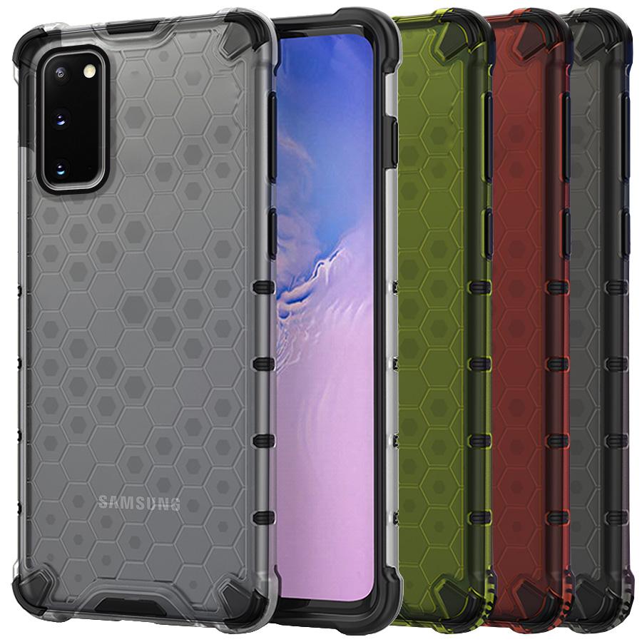 Funda Honey Transparente Uso Rudo Samsung Galaxy S20 G980