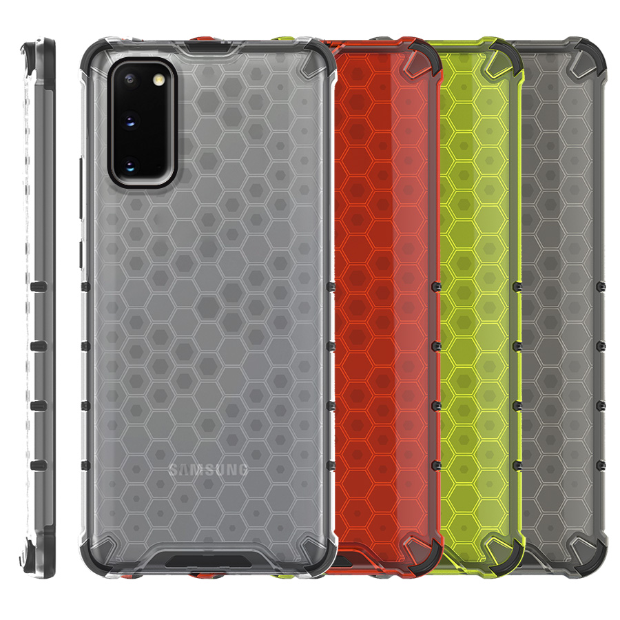 Funda Honey Transparente Uso Rudo Samsung Galaxy S20 Plus G985