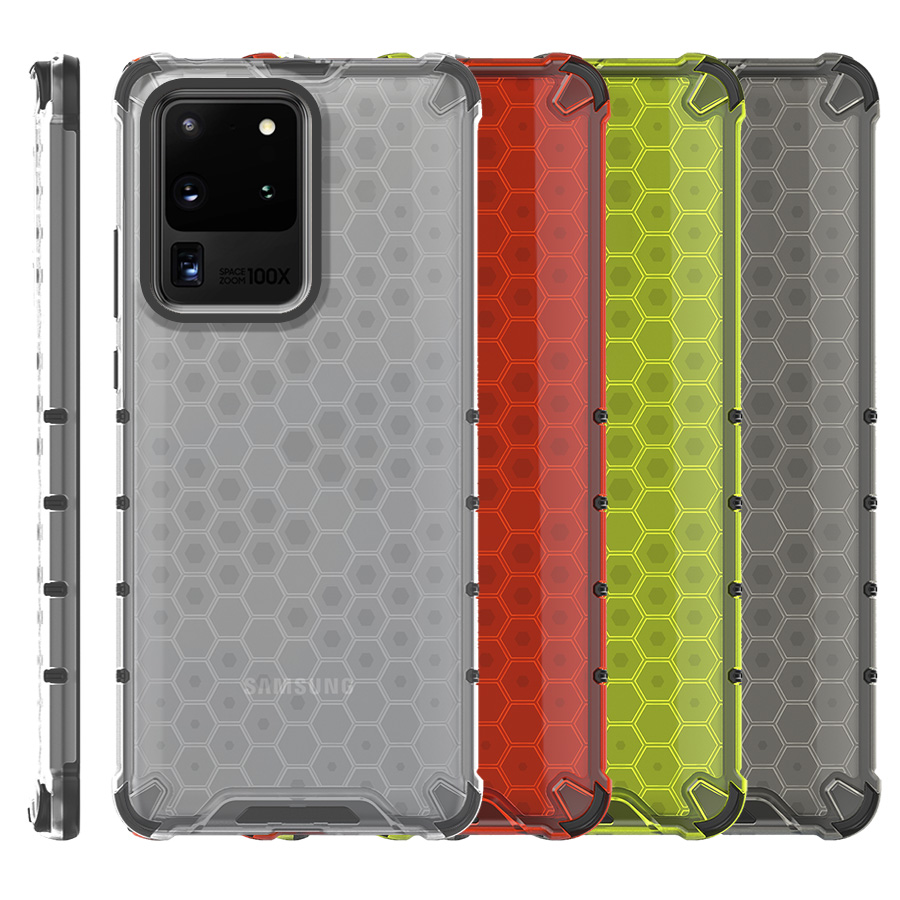 Funda Honey Transparente Uso Rudo Samsung Galaxy S20 Ultra G988