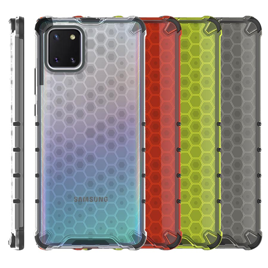 Funda Honey Transparente Uso Rudo Samsung Galaxy Note 10 Lite N770