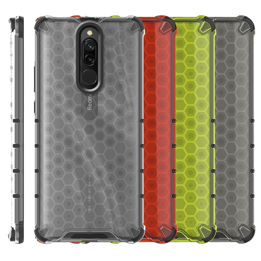 Funda Honey Transparente Uso Rudo Xiaomi Redmi 8 / Redmi 8A