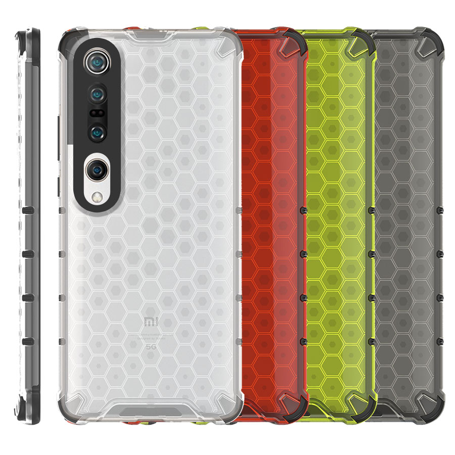 Funda Honey Transparente Uso Rudo Xiaomi Mi 10 / Mi 10 Pro