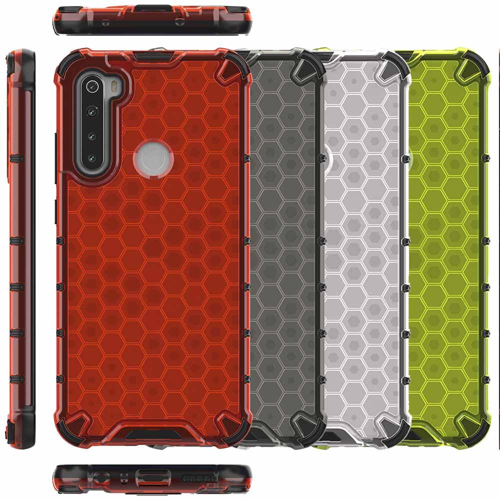 Funda Honey Transparente Uso Rudo Xiaomi Redmi Note 8T