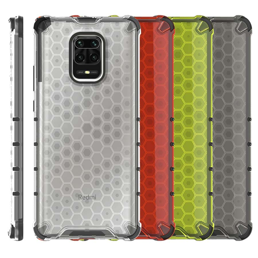 Funda Honey Transparente Uso Rudo Xiaomi Redmi Note 9s