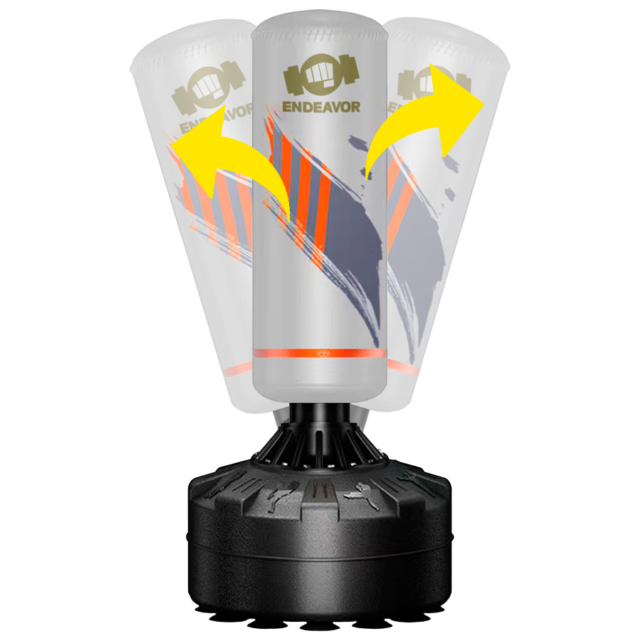 Costal de piso Saco Boxeo Piso Free Standing Punching Bag Saco Boxeo Intermedio ST6659