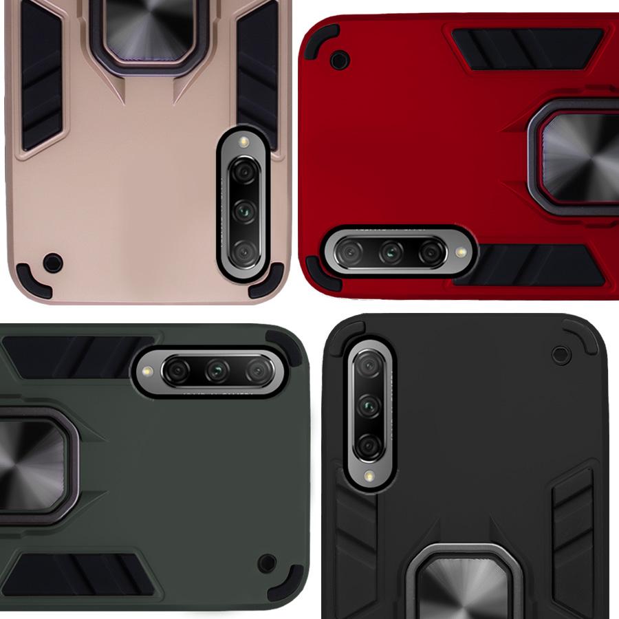Funda Warrior Case Anillo Stand Magnético Uso Rudo Honor 9x Pro, Y9s