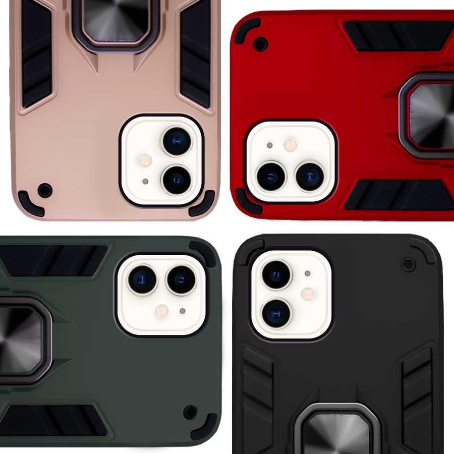 Funda Warrior Case Anillo Stand Magnético Uso Rudo Apple iPhone 11