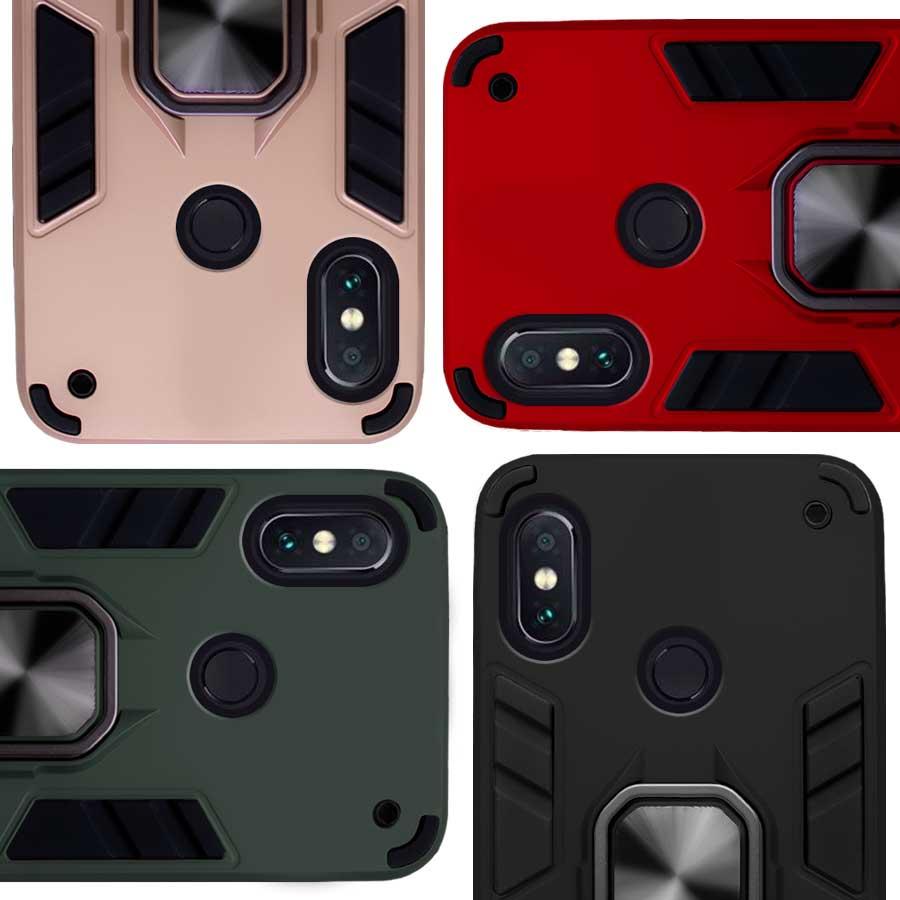 Funda Warrior Case Anillo Stand Magnético Uso Rudo Xiaomi Redmi Note 5, Redmi Note 5 Pro